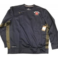 Westview LAX 05: CLOSEOUT SPECIAL -- Adult-Size - Nike Therma-Fit Team KO Crew Sweatshirt - Navy Blue