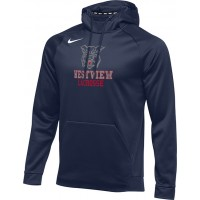 Westview LAX 20: Nike Therma Men's Training Hoodie - Navy Blue